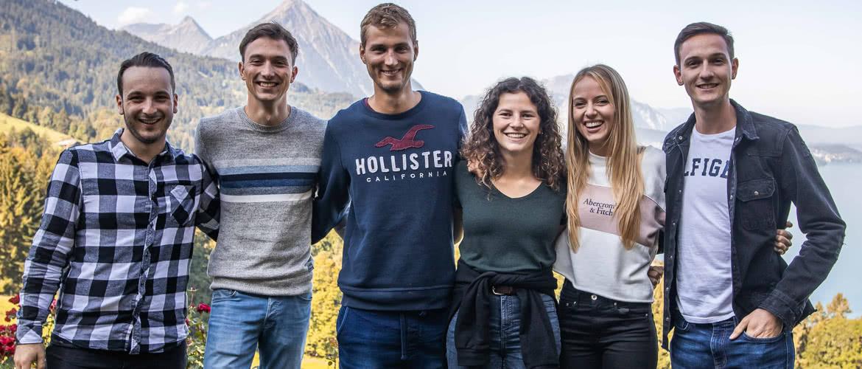 Gabriel Kiener, Adrian von Niederhäusern, Lukas Beiner, Tiziana Zundel, Juliana Zurbrügg, Timon Moser